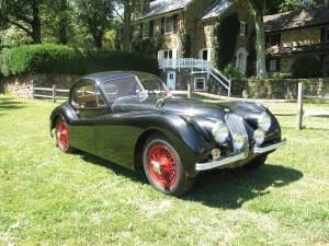 1952 Jaguar XK120SE Fixed Head Coupe